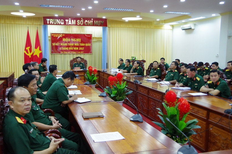 Bộ Tổng Tham mưu – Bộ Quốc phòng: Sơ kết ngành tham mưu toàn quân 6 tháng đầu năm