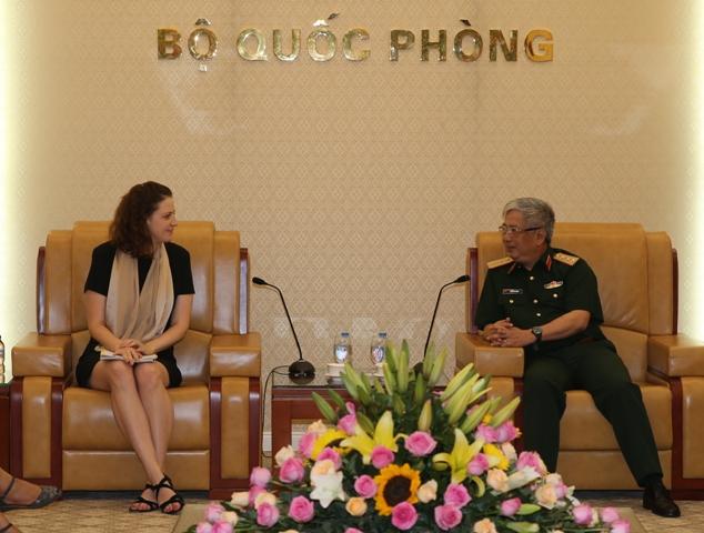Thượng tướng Nguyễn Chí Vịnh tiếp Đoàn Đánh giá và Tư vấn của Liên hợp quốc