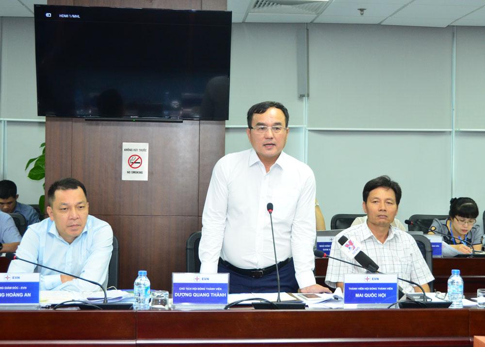 Tổ công tác của Thủ tướng Chính phủ kiểm tra Tập đoàn Điện lực Việt Nam