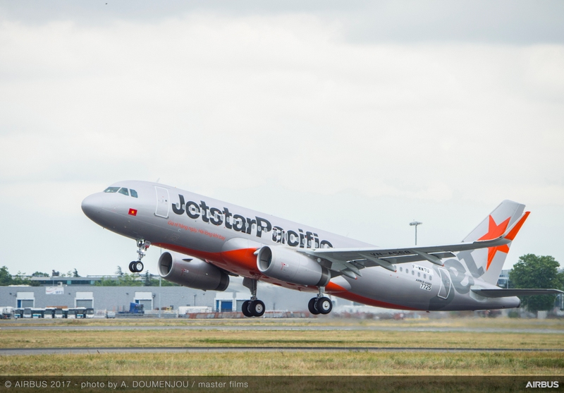 Hãng hàng không Jetstar Pacific tiếp nhận máy bay A320ceo