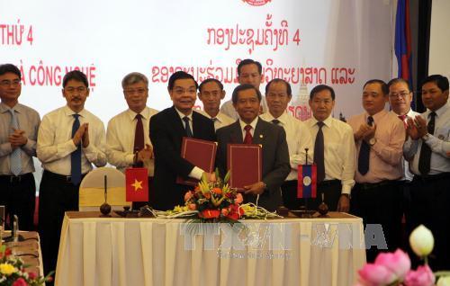 Khóa họp lần thứ IV Ủy ban Hợp tác Khoa học và Công nghệ Việt Nam – Lào