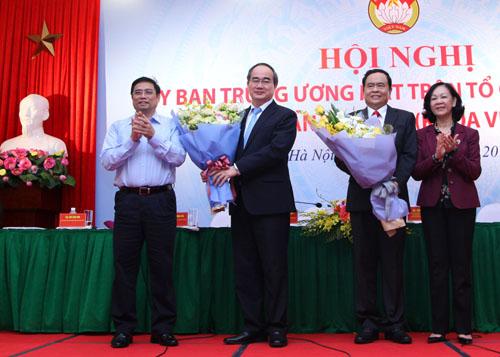 Đồng chí Trần Thanh Mẫn giữ chức Chủ tịch Ủy ban Trung ương Mặt trận Tổ quốc Việt Nam