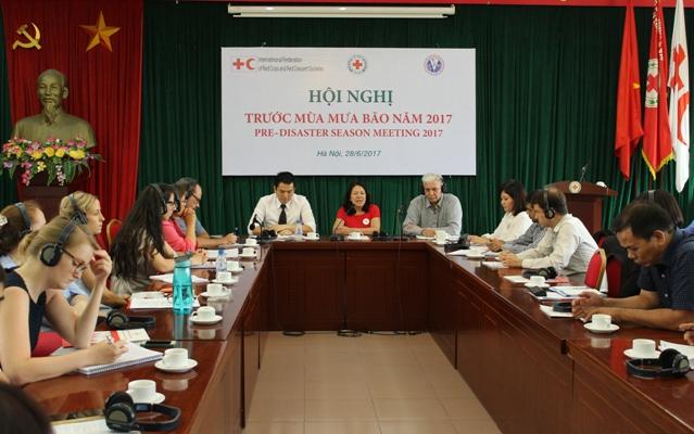 Hội Chữ thập đỏ Việt Nam sẵn sàng ứng phó với mùa mưa bão năm 2017