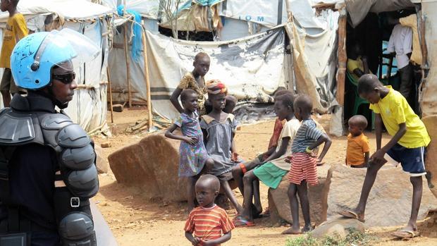 Gần 86% người tị nạn ở Uganda là phụ nữ và trẻ em