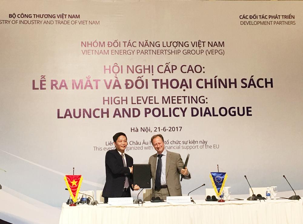 Hội nghị cấp cao Nhóm đối tác Năng lượng Việt Nam