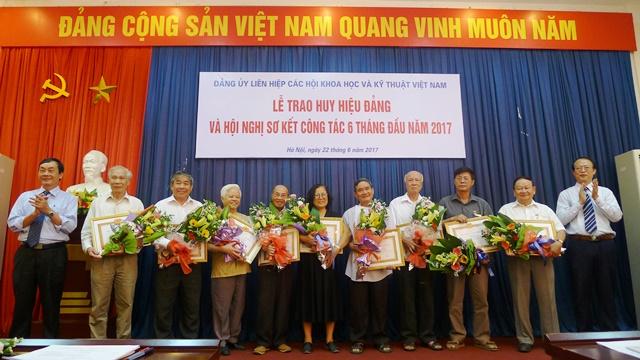 Đảng ủy Liên hiệp các Hội khoa học và kỹ thuật Việt Nam triển khai nhiệm vụ 6 tháng cuối năm 2017