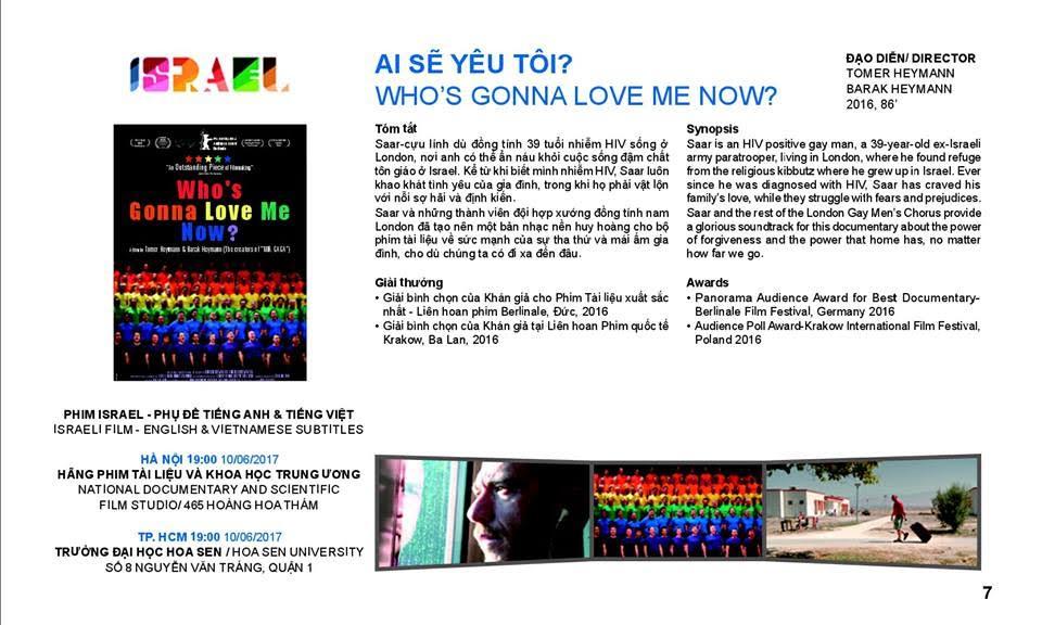 Phim Israel tham Liên hoan Phim tài liệu châu Âu – Việt Nam lần thứ 8