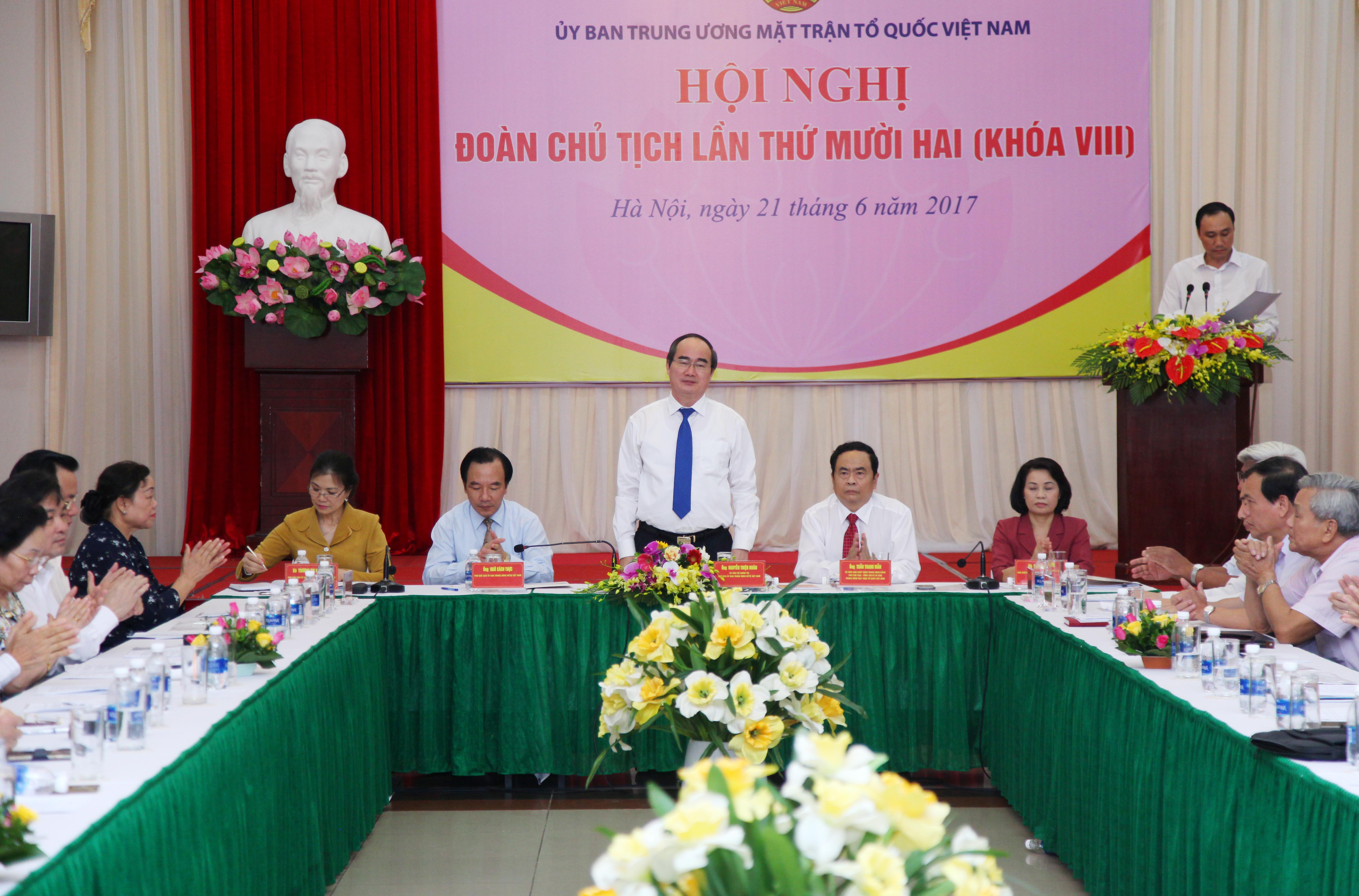 Ngày mai (22/6), Hiệp thương cử Chủ tịch Ủy ban Trung ương Mặt trận Tổ quốc Việt Nam