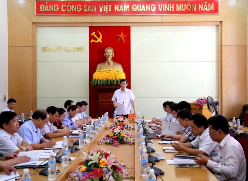 Quảng Ninh: Kiểm tra thực hiện Nghị quyết 06 về quy hoạch của TP Hạ Long