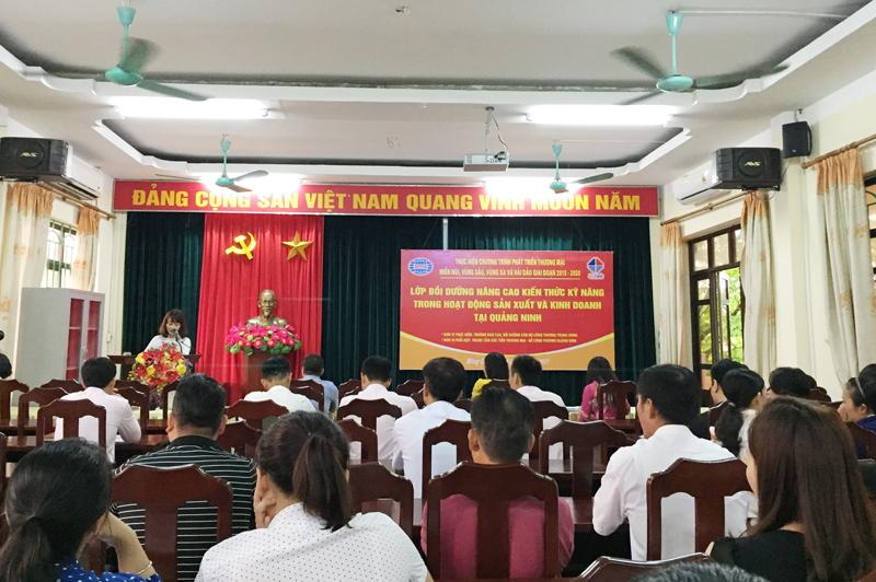 Quảng Ninh: Tập huấn nâng cao kiến thức trong hoạt động SXKD và quản trị doanh nghiệp