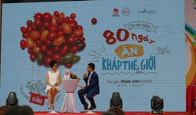 """Ra mắt cuốn sách """"80 ngày ăn khắp thế giới"""""""