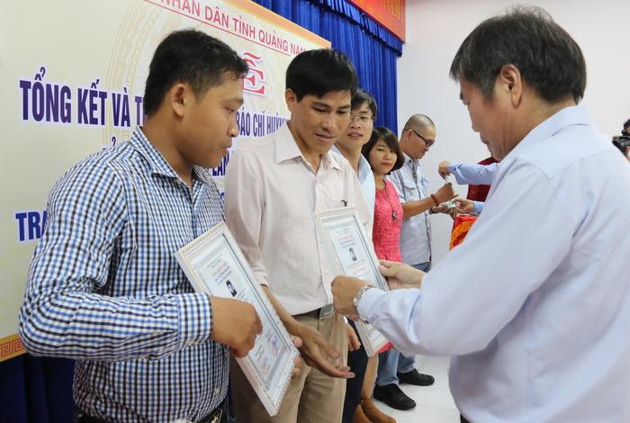 Quảng Nam: Trao giải báo chí Huỳnh Thúc Kháng lần thứ XI