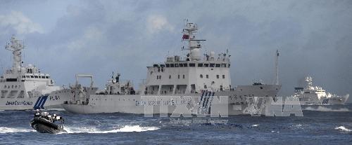 Tàu Trung Quốc tiếp tục xâm nhập vùng biển Nhật Bản
