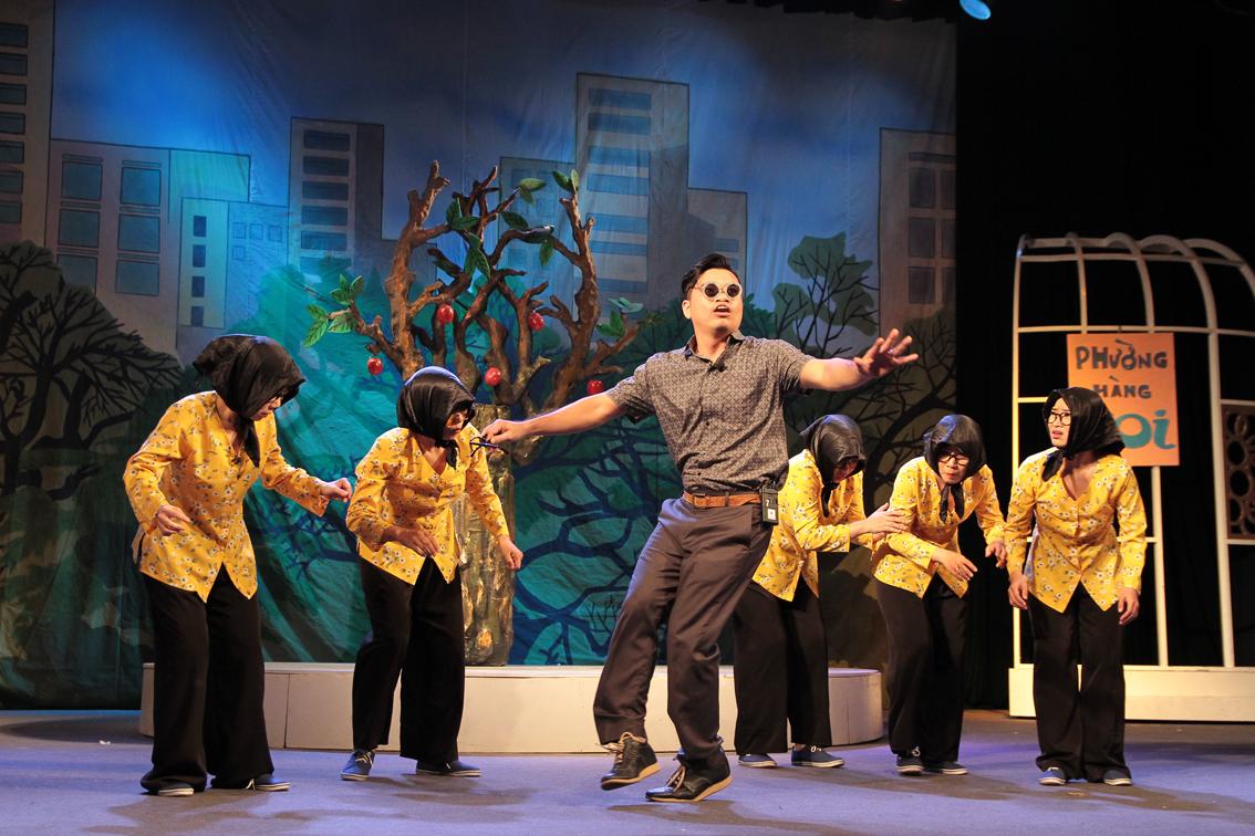 """Nhà hát Tuổi trẻ ra mắt vở kịch """"Thành phố lặng im"""""""