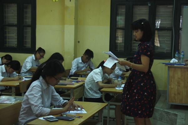 Thi vào lớp 10 ở Hà Nội: Đề thi Toán phân loại cao