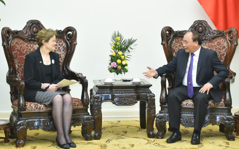 Australia mong muốn thúc đẩy hợp tác mạnh mẽ hơn nữa với Việt Nam