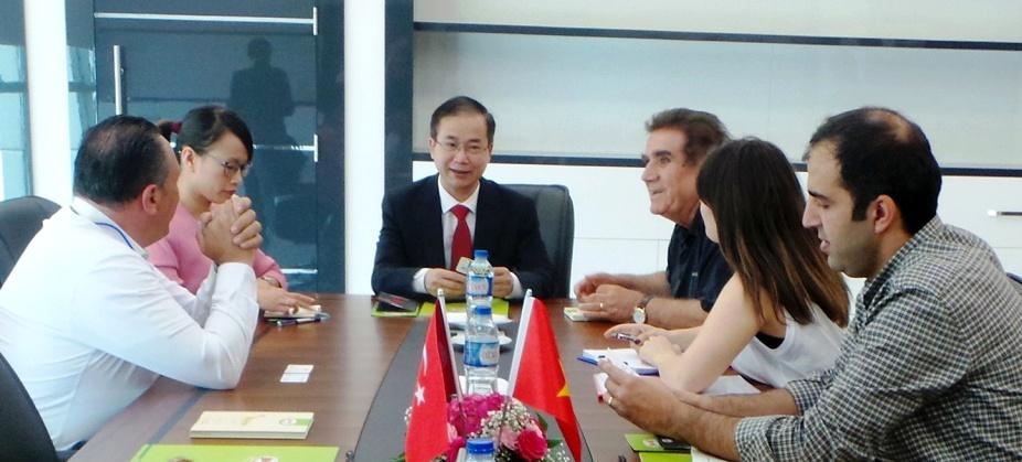 Đại sứ Việt Nam tại Thổ Nhĩ Kỳ thăm Tập đoàn Bagdat