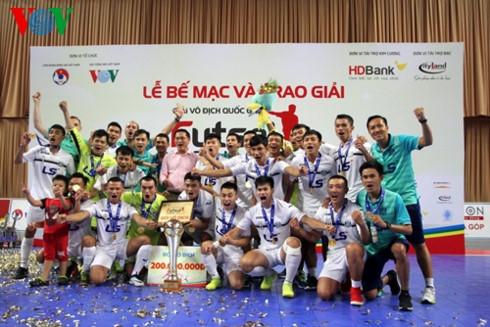 Câu lạc bộ Thái Sơn Nam đăng quang ngôi vô địch Giải Futsal vô địch quốc gia HDBank 2017