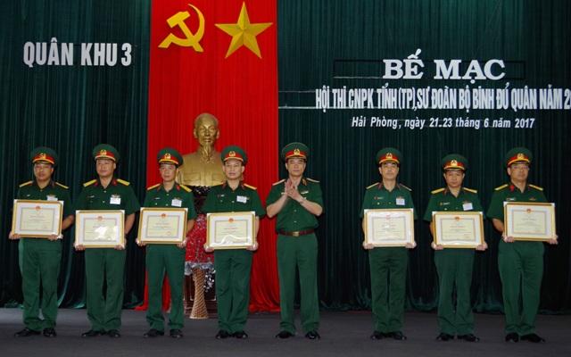 Quân khu 3 tổ chức Hội thi Chủ nhiệm phòng không