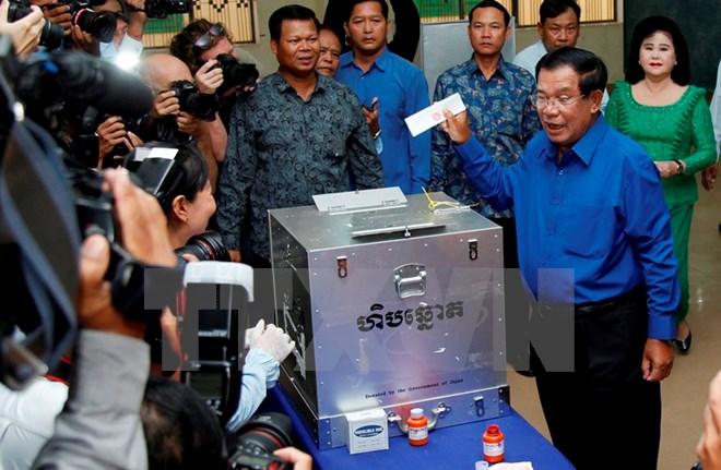 Công bố kết quả chính thức cuộc bầu cử xã, phường Campuchia