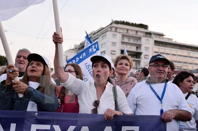 Hy Lạp: Đa số người dân muốn thoát khủng hoảng hơn kịch bản rời EU