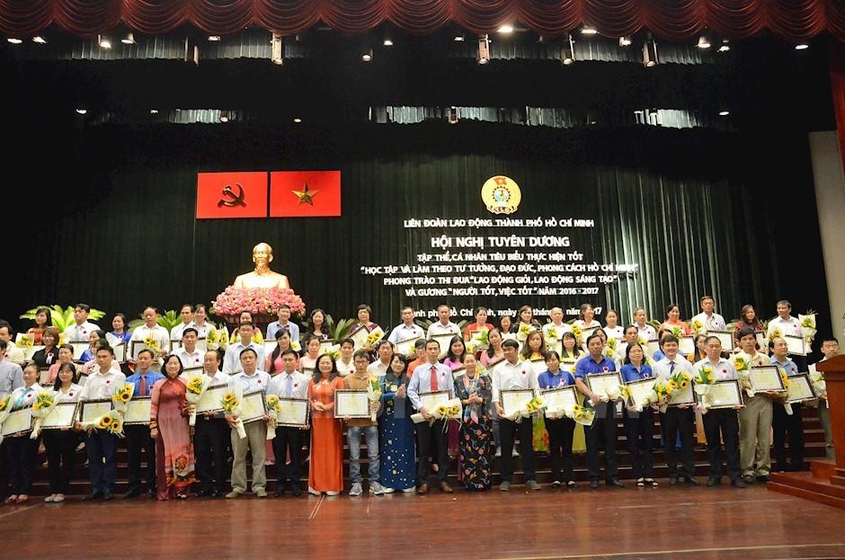 Thành phố Hồ Chí Minh: Tuyên dương nhiều tập thể, cá nhân tiêu biểu trong học tập và làm theo gương Bác