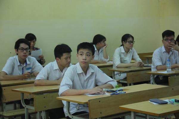 Thi vào lớp 10 ở Hà Nội: Nhiều học sinh hứng thú với đề thi Ngữ Văn