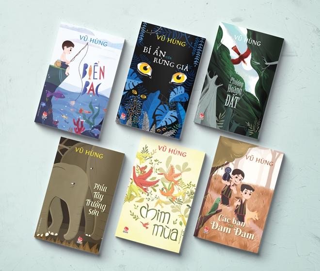 Tái bản thêm 6 ấn phẩm của nhà văn Vũ Hùng