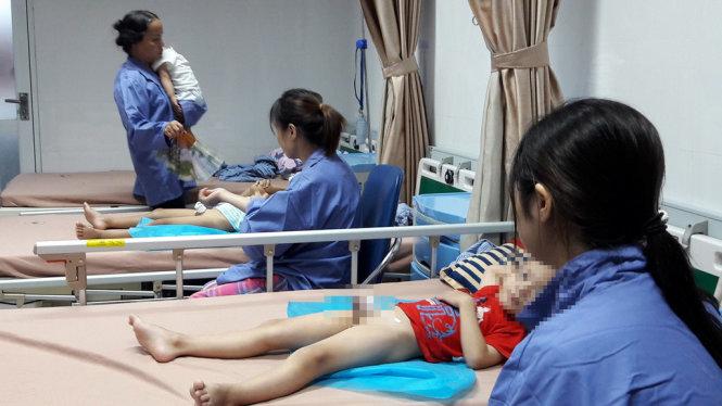 Tập trung mọi điều kiện chữa trị cho các bé bị viêm nhiễm ở Hưng Yên