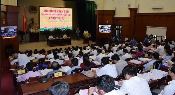 Khai mạc kỳ họp thứ tư – HĐND tỉnh Hưng Yên khóa XVI