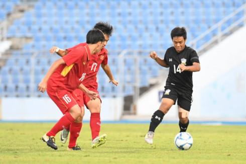 U15 Việt Nam vô địch Đông Nam Á sau trận đấu cùng U15 Thái Lan