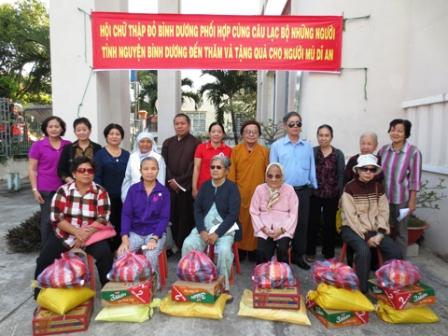 Hiệu quả hoạt động của Hội Chữ thập đỏ các tỉnh Đông Nam bộ