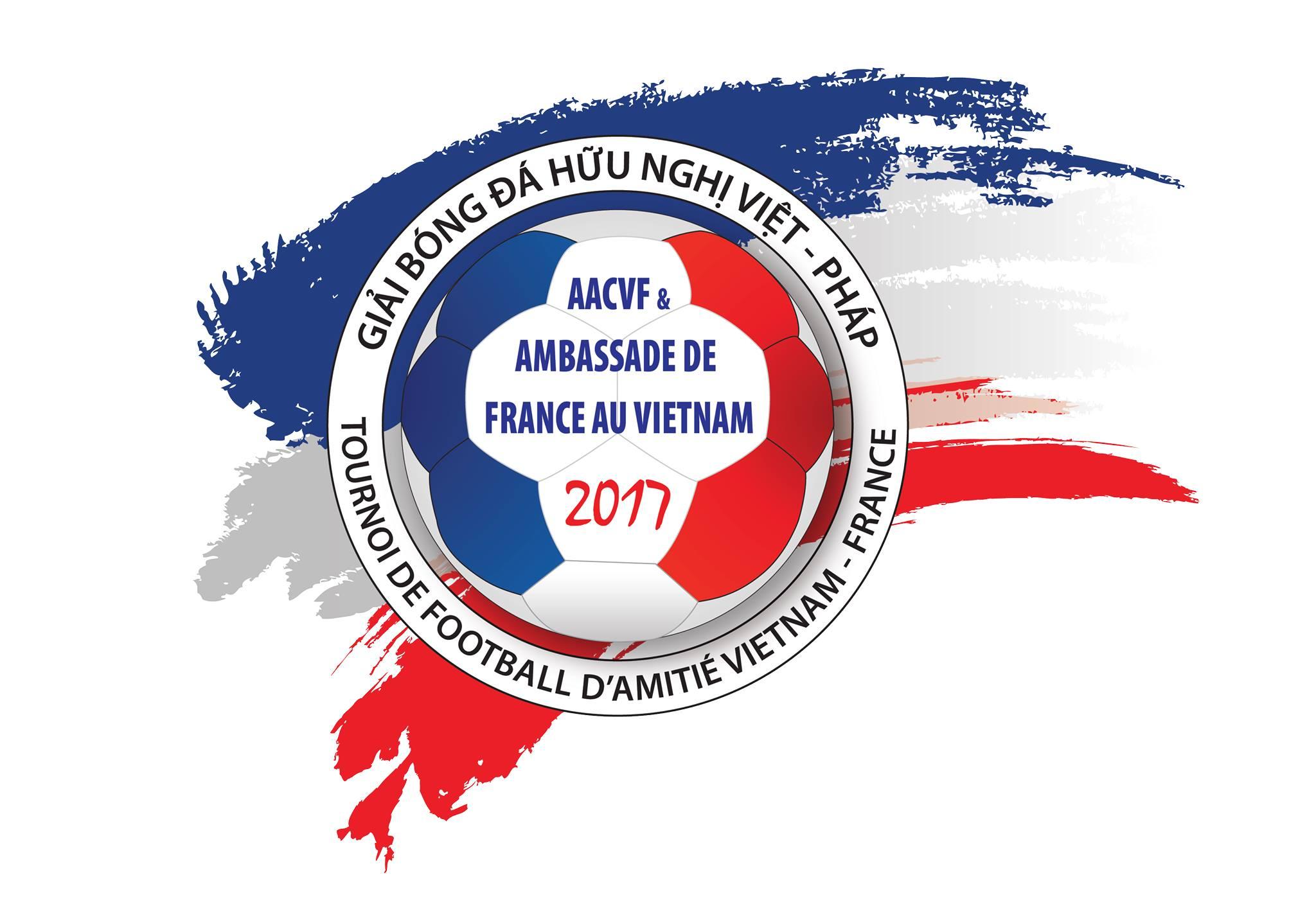 Giải bóng đá hữu nghị Việt Nam - Pháp 2017