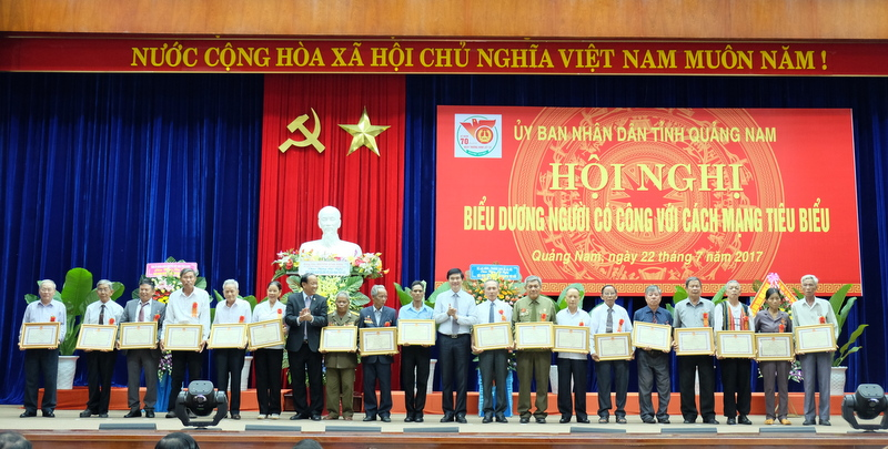 Quảng Nam nỗ lực chăm lo cho người có công