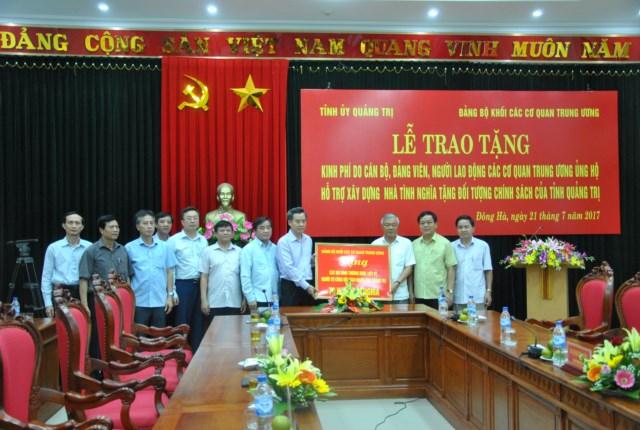 Đảng bộ Khối các cơ quan Trung ương: Nhiều hoạt động tri ân người có công với cách mạng