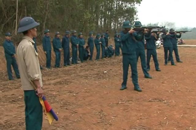 Mường Chà (Điện Biên): Nâng cao chất lượng huấn luyện dân quân tự vệ