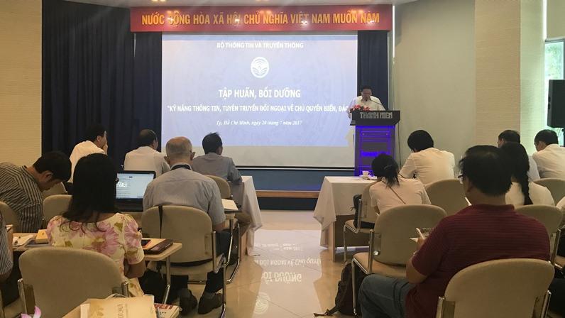 Tập huấn kỹ năng tuyên truyền đối ngoại về chủ quyền biển đảo