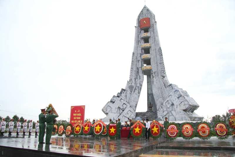 Hoàn thành công trình nâng cấp, trùng tu Nghĩa trang liệt sỹ tỉnh Hậu Giang