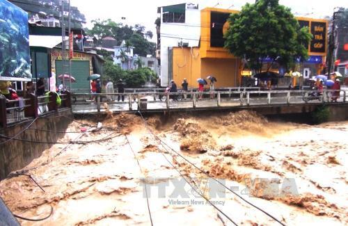 Mưa lũ gây nhiều thiệt hại tại Hà Giang