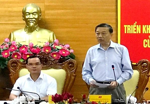 Ban chỉ đạo Trung ương về phòng, chống tham nhũng kiểm tra, giám sát tại Hà Nam, Ninh Thuận