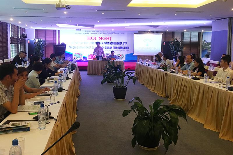 Hội nghị kết nối tiêu thụ sản phẩm nông nghiệp với các DN du lịch Quảng Ninh
