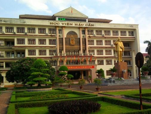 78 thí sinh Hà Nội đăng ký Học viện Hậu cần phải điều chỉnh nguyện vọng