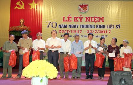 Huyện Văn Lâm, Hưng Yên kỷ niệm 70 năm Ngày Thương binh - Liệt sỹ
