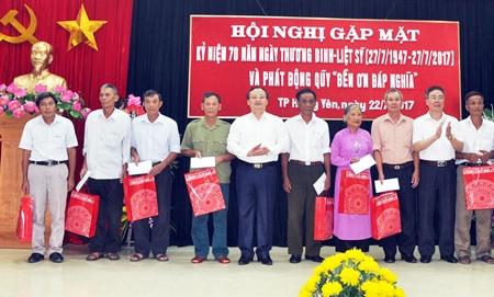 Thành phố Hưng Yên kỷ niệm 70 năm Ngày Thương binh - Liệt sỹ