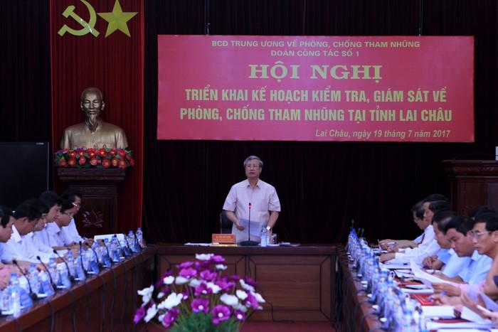 Kiểm tra, giám sát việc xử lý các vụ án tham nhũng, kinh tế nghiêm trọng tại tỉnh Lai Châu