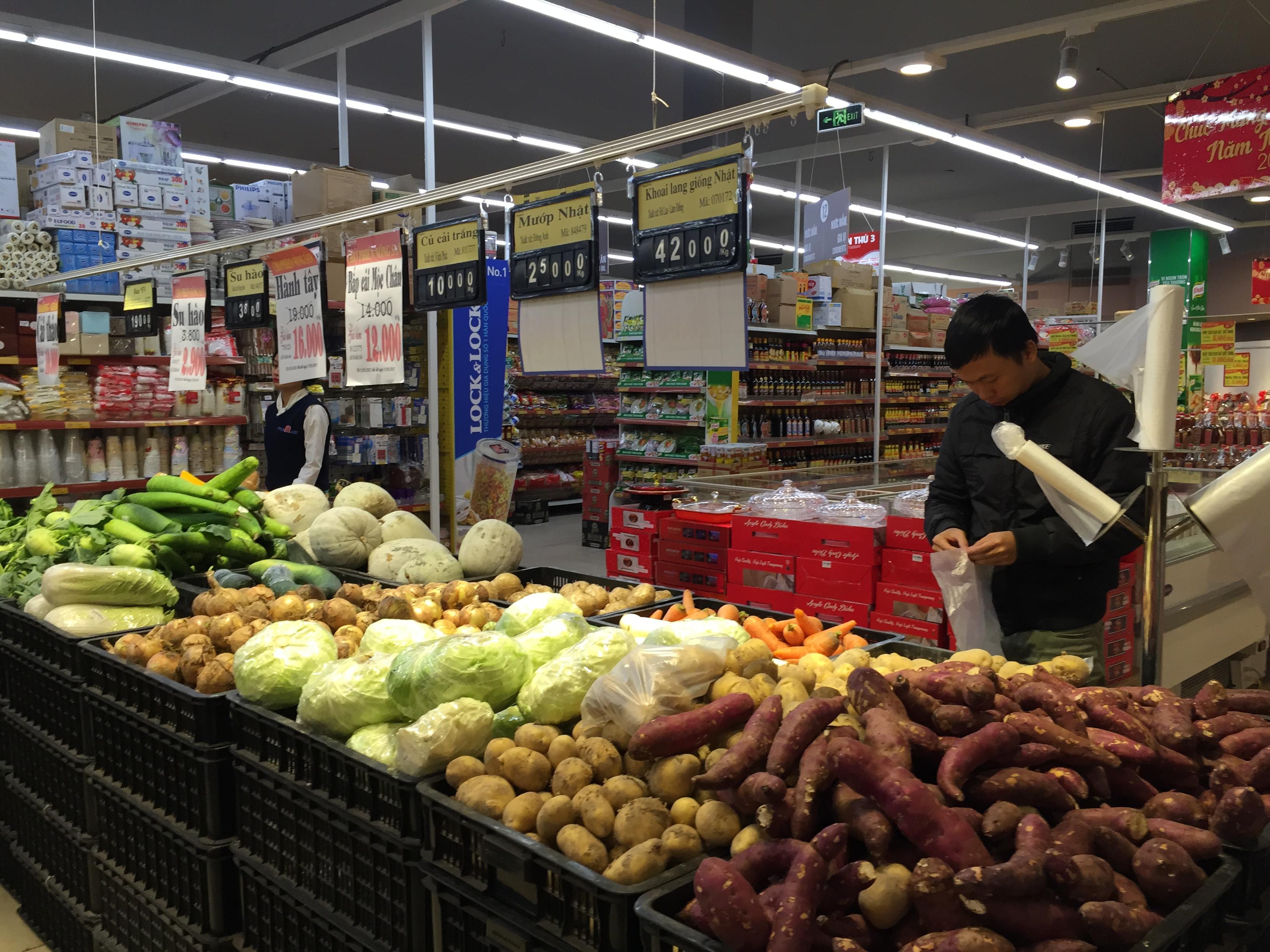 Xuất khẩu rau quả tiếp tục tăng trưởng mạnh