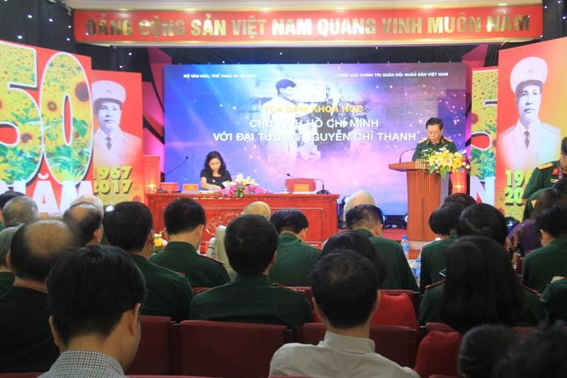 """Tọa đàm khoa học """"Chủ tịch Hồ Chí Minh với Đại tướng Nguyễn Chí Thanh"""""""