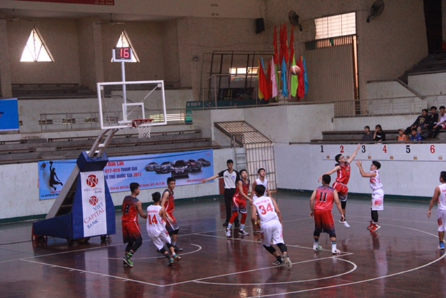 Khai mạc Giải vô địch bóng rổ trẻ quốc gia năm 2017