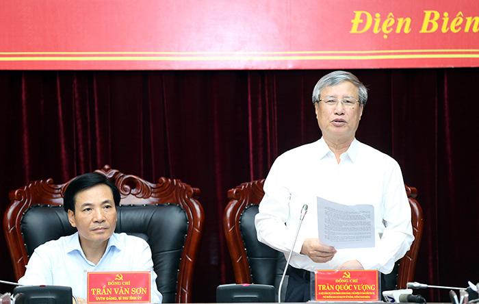 Kiểm tra, giám sát công tác phòng, chống tham nhũng tại tỉnh Điện Biên