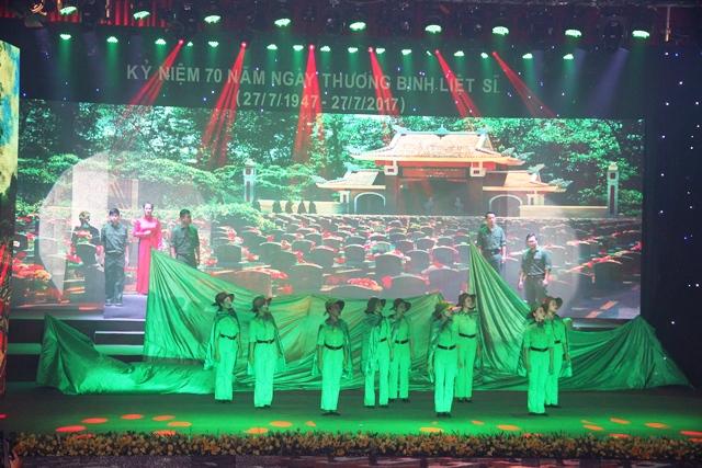 Hải Phòng tổ chức Lễ kỷ niệm 70 năm Ngày Thương binh - Liệt sĩ